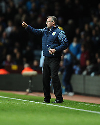 Aston Villa Manager, Paul Lambert  - Photo mandatory by-line: Joe Meredith/JMP - Mobile: 07966 386802 - 20/12/2014 - SPORT - football - Birmingham - Villa Park - Aston Villa v Manchester United - Barclays Premier League