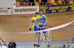 29-12-2006 WIELRENNEN: NK BAANRENNEN 2006: ALKMAAR<br /> Mannen Tandem<br /> ©2006-WWW.FOTOHOOGENDOORN.NL