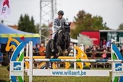 Winter Jans, BEL, Black Booster<br /> Nationaal Tornooi LRV Ponies<br /> Zonnebeke 2019<br /> © Hippo Foto - Dirk Caremans<br />  29/09/2019