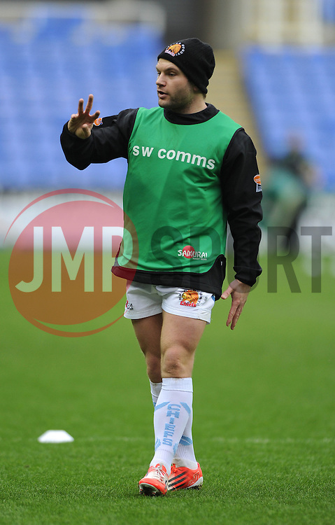 - Photo mandatory by-line: Dougie Allward/JMP - Mobile: 07966 386802 - 11/01/2015 - SPORT - RUGBY - Reading - Madejski Stadium - London Irish v Exeter Chiefs - Aviva Premiership