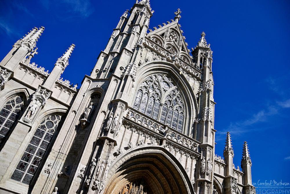 Notre Dame du Sablon / Onze-Lieve-Vrouw van de Zavel, Church in Grand Sablon, Brussels