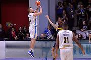 Jakub Wojciechovski<br /> Vanoli Cremona - Fiat Auxilium Torino<br /> Lega Basket Serie A 2016/2017<br /> Cremona, 12/02/2017<br /> Foto Ciamillo-Castoria
