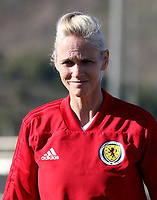 International Women's Friendly Matchs 2019 / <br /> Scotland v Iceland 1-2 ( La Manga Club - Cartagena,Spain ) - <br /> Michelle Kerr - Dt of Scotland