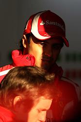 12.02.2011, Street Circuit. Jerez, ESP, Formel 1 Test 2 Valencia 2011,  im Bild Felipe Massa (BRA), Scuderia Ferrari . EXPA Pictures © 2011, PhotoCredit: EXPA/ nph/   poleposition.at  //    **** only for AUT  & SLO ****