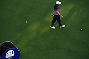 Patrick Reed (Usa) during the practice round of Ryder Cup 2018, at Golf National in Saint-Quentin-en-Yvelines, France, September 27, 2018 - Photo Philippe Millereau / KMSP / ProSportsImages / DPPI