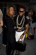 LAURI HADLEIGH; VERNON FRANCOIS, Visa Swap launch party. No1 The Piazza. Covent Garden. London. 16 July 2008.  *** Local Caption *** -DO NOT ARCHIVE-© Copyright Photograph by Dafydd Jones. 248 Clapham Rd. London SW9 0PZ. Tel 0207 820 0771. www.dafjones.com.