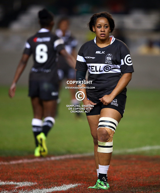 DURBAN, SOUTH AFRICA - AUGUST 15:  GV during the KZN WOMEN vs WP WOMEN  at Growthpoint Kings Park on August 15, 2015 in Durban, South Africa. (Photo by Steve Haag)
