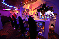 Royal Caribbean International's  Independence of the Seas, the world?s largest cruise ship. ..Interior and exterior features photos...The Labyrinth nightclub *** Local Caption *** The Labyrinth nightclub