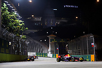 VETTEL Sebastian (Ger) Red Bull Renault Rb10 Action  during the 2014 Formula One World Championship, Singapore Grand Prix from September 19th to 21th 2014 in Singapour.<br />