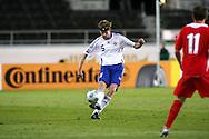 10.10.2009, Olympiastadion / Olympic Stadium, Helsinki, Finland..2010 MM-karsinta Suomi - Wales / FIFA World Cup 2010 Qualifying match Finland v Wales.Hannu Tihinen - Finland.©Juha Tamminen.