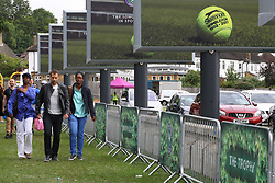 © London News Pictures. 03/07/2017. London, UK. Tennis fans queue for Wimbledon tickets on the first day of the Wimbledon Championships 2017. Wimbledon is the oldest tennis tournament in the world, and is widely considered the most prestigious. Photo credit: Dinendra Haria/LNP