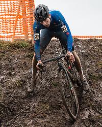 DE PRETTO Davide (ITA) during Men Junior race, 2020 UCI Cyclo-cross Worlds Dübendorf, Switzerland, 2 February 2020. Photo by Pim Nijland / Peloton Photos | All photos usage must carry mandatory copyright credit (Peloton Photos | Pim Nijland)