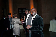 DAVID ADJAYE, Chris Ofili dinner to celebrate the opening of his exhibition. Tate. London. 25 January 2010