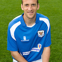 St Johnstone Photocall..2008-09 Season<br /> Paul Sheerin<br /> Picture by Graeme Hart.<br /> Copyright Perthshire Picture Agency<br /> Tel: 01738 623350  Mobile: 07990 594431