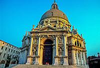 Chiesa della Salute, the Grand Canal, Venice, Italy
