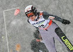 Helena Olsson Smeby of Norway at Ski Jumping ladies Normal Hill Individual of FIS Nordic World Ski Championships Liberec 2008, on February 20, 2009, in Jested, Liberec, Czech Republic. (Photo by Vid Ponikvar / Sportida)