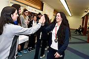 Francesca Dotto, Giovanna Elena Smorto<br /> Stelle d'Argento a Lucca. Premiazione Under 17 e Under 20 Femminili<br /> FIP 2016<br /> Lucca, 18/11/2016<br /> Foto Ciamillo - Castoria