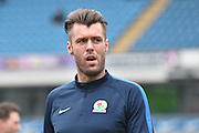 Blackburn Rovers Defender,  Elliott Ward  during the Sky Bet Championship match between Blackburn Rovers and Leeds United at Ewood Park, Blackburn, England on 12 March 2016. Photo by Mark Pollitt.