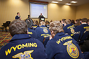 2013 Wyoming FFA Convention Delegate Business Session, April 9, 2013
