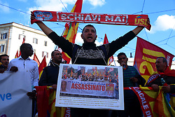 October 22, 2016 - Roma, Italy - Demonstration organized by unions and political parties through the streets of Rome for the No to the constitutional referendum of Prime Minister Matteo Renzi. (Credit Image: © Matteo Nardone/Pacific Press via ZUMA Wire)