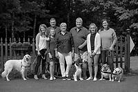 Valovanie Family portrait session.  ©2020 Karen Bobotas Photographer