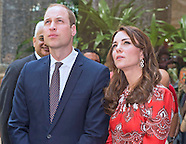 Kate Middleton & Prince William -  Mumbai Memorial