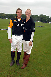 JAMIE MORRISON and JODIE KIDD at the Kuoni World Clas Polo Cup in aid of Breast Cancer Care held at Hurtwood Park Polo Club, Ewhurst, Surrey on 27th May 2007.<br /><br />NON EXCLUSIVE - WORLD RIGHTS