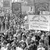 May Day March in Barnsley. 1984