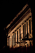 Gold Light on Old Building, New York City, New York, USA, July 1982