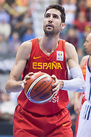 Spain Sergi Vidal during FIBA European Qualifiers to World Cup 2019 between Spain and Slovenia at Coliseum Burgos in Madrid, Spain. November 26, 2017. (ALTERPHOTOS/Borja B.Hojas)