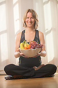 Jen Johnson of Everyday Mindful talks about controling your diet.  Photo By:  Jeff Janowski