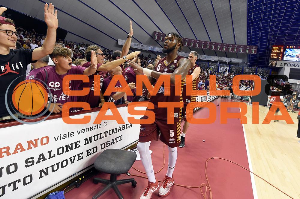 Julian Stone<br /> Umana Reyer Venezia - Dolomiti Energia Aquila Basket Trento<br /> Lega Basket Serie A 2016/2017<br /> Playoff, finale gara 2<br /> Venezia, 12/06/2017<br /> Foto M.Ceretti / Ciamillo-Castoria