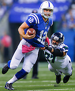 NFL - Indianapolis Colts vs Seattle Seahawks - Indianapolis, In