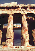 GREECE, ATHENS, ACROPOLIS Parthenon built by Pericles in 447 BC