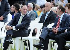 Waitangi-Beating the Retreat ceremony at the Treaty Grounds