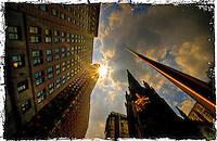 New-York City, Trinity Church.
