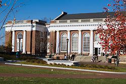 Alderman Library on The Grounds of the University of Virginia, Charlottesville, VA - November 27, 2007.
