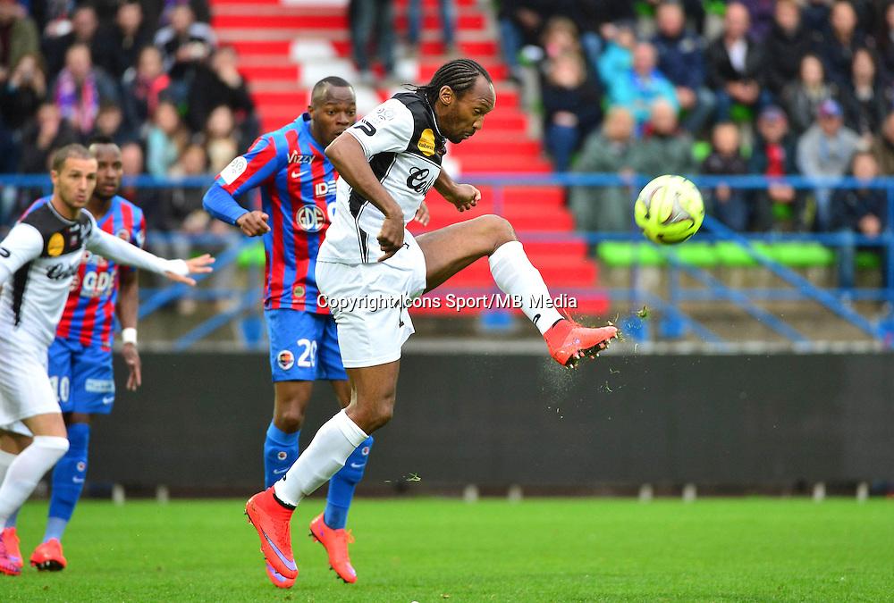 Jeremy SORBON - 25.04.2015 - Caen / Guingamp - 34eme journee de Ligue 1<br /> Photo : David Winter / Icon Sport