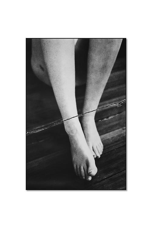 Artist: Rachel Liu<br /> Title: Untitled, from &quot;lascio chi'io pianga&quot; <br /> Medium: Manipulated Silver Gelatin Print