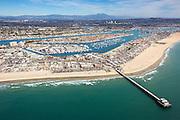 Newport Beach Pier Aerial Large