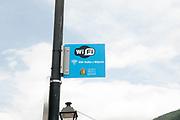 public and free wifi in Vielha e Mijaran, Aran, Catalonia, Pyrenees, Spain