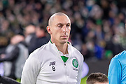 Celtic Captain Scott Brown during the Europa League match between Celtic and FC Copenhagen at Celtic Park, Glasgow, Scotland on 27 February 2020.