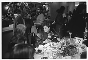Cindy Adams , Power Lunch in aid of Meals on Wheels, Gotham Bar and Grill, Manhattan. 17 November 1988