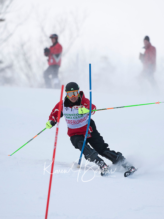 Tony Buttinger Memorial Slalom J6 J5 at Gunstock February 13, 2011.