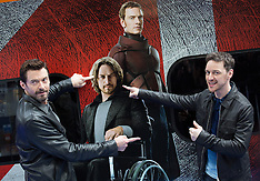 MAR 31 2014 X-Men and Virgin Trains: with Hugh Jackman & James McAvoy