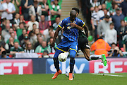 AFC Wimbledon striker Tom Elliott (9) during the Sky Bet League 2 play off final match between AFC Wimbledon and Plymouth Argyle at Wembley Stadium, London, England on 30 May 2016.