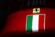 September 4-7, 2014 : Italian Formula One Grand Prix - Ferrari nose cone detail