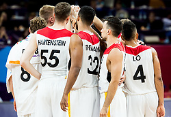 Players of Germany after the basketball match between National Teams of Germany and Spain at Day 13 in Round of 16 of the FIBA EuroBasket 2017 at Sinan Erdem Dome in Istanbul, Turkey on September 12, 2017. Photo by Vid Ponikvar / Sportida