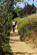 Mountain Biking On The Trails Of The Orange County Parks