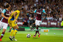 Enner Valencia of West Ham during 2nd Leg football match between West Ham United FC and NK Domzale in 3rd Qualifying Round of UEFA Europa league 2016/17 Qualifications, on August 4, 2016 in London, England.  Photo by Ziga Zupan / Sportida